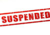 suspended of the lekhpal for not do virasat