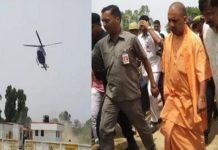 UP CM Yogi Adityanath Helicopter Makes Emergency Landing in Farm, CM Incurs no Harm